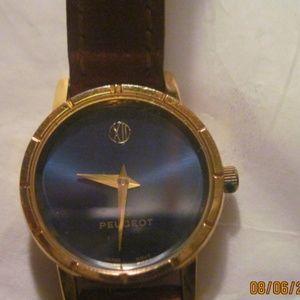 Vintage PEUGEOT Women's Blue Dial Quartz Watch